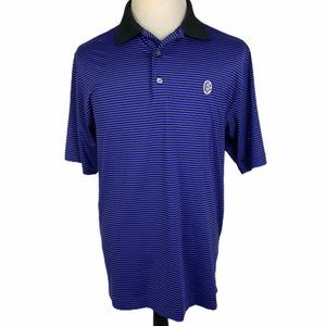 FootJoy Golf Polo Shirt Men's Large Purple Black